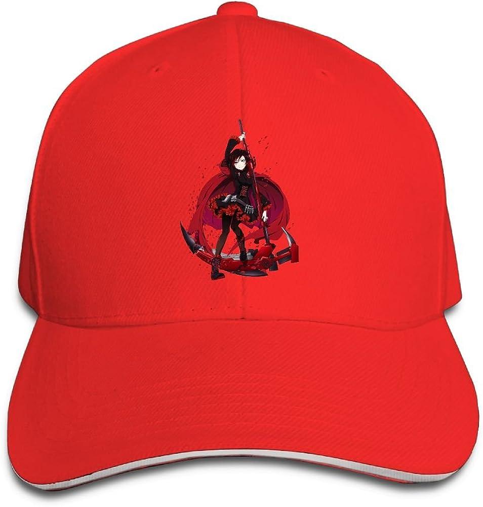 Geneva F Adult Rwby Adjustable Baseball Caps Hats Black