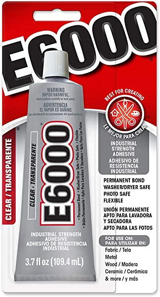 E6000 230010 Craft Adhesive 3 7 Fluid Ounces
