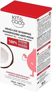 KIT & COCO Champú para tratamiento de piojos y liendres (150ml)