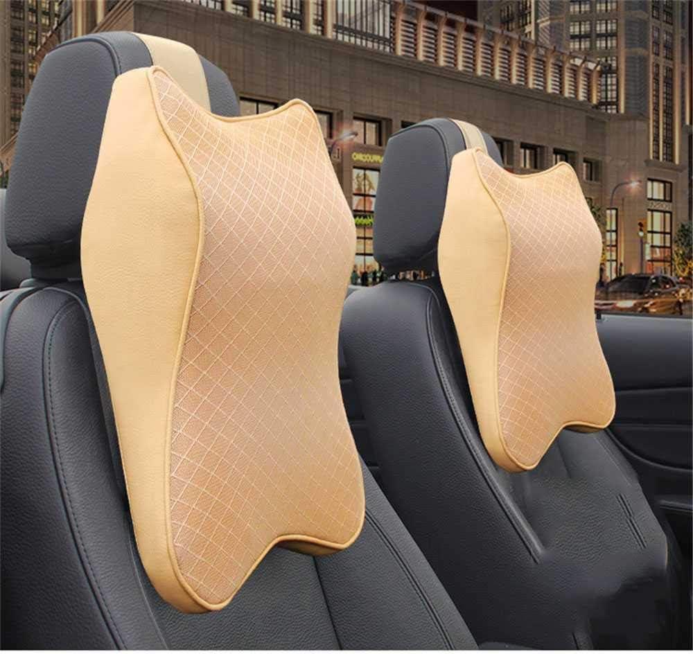 Ranking TOP19 NIUASH Car Neck Pillow 3D Memory Rest Auto Foam Adjustable 55% OFF Head