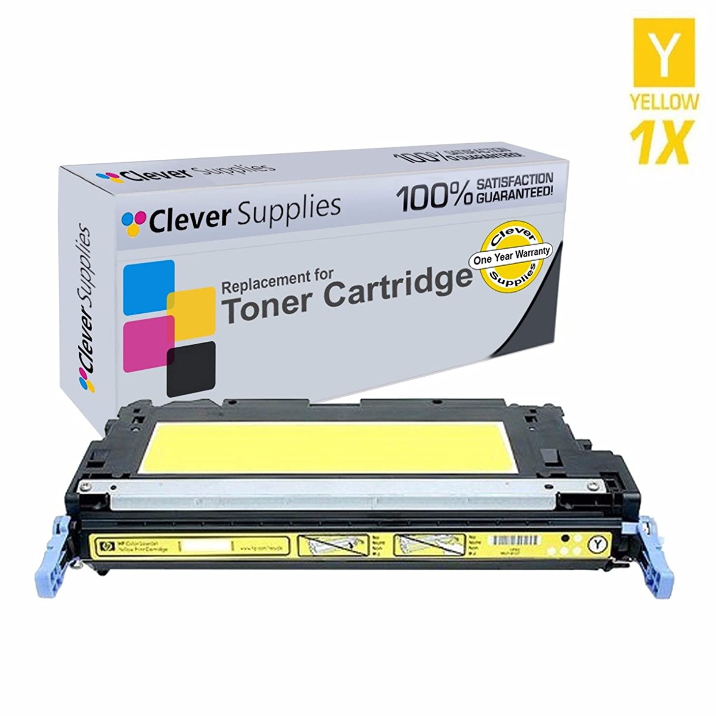 CS Compatible Toner Cartridge Replacement for HP CP3505n Q7582A Yellow HP 503A Color Laserjet 3600n 3600dn 3800n 3800dn 3800dtn CP3505 CP3505n CP3505dn CP3505x