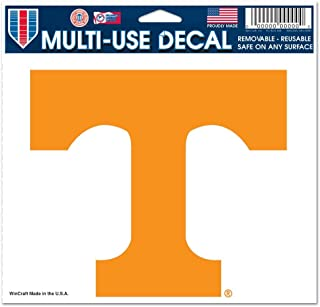 Tennessee Volunteers Official NCAA 4.5 inch x 6 inch Car Window Cling Decal by Wincraft