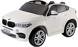 BMW X6M Electric Ride-On Car for Kids - White