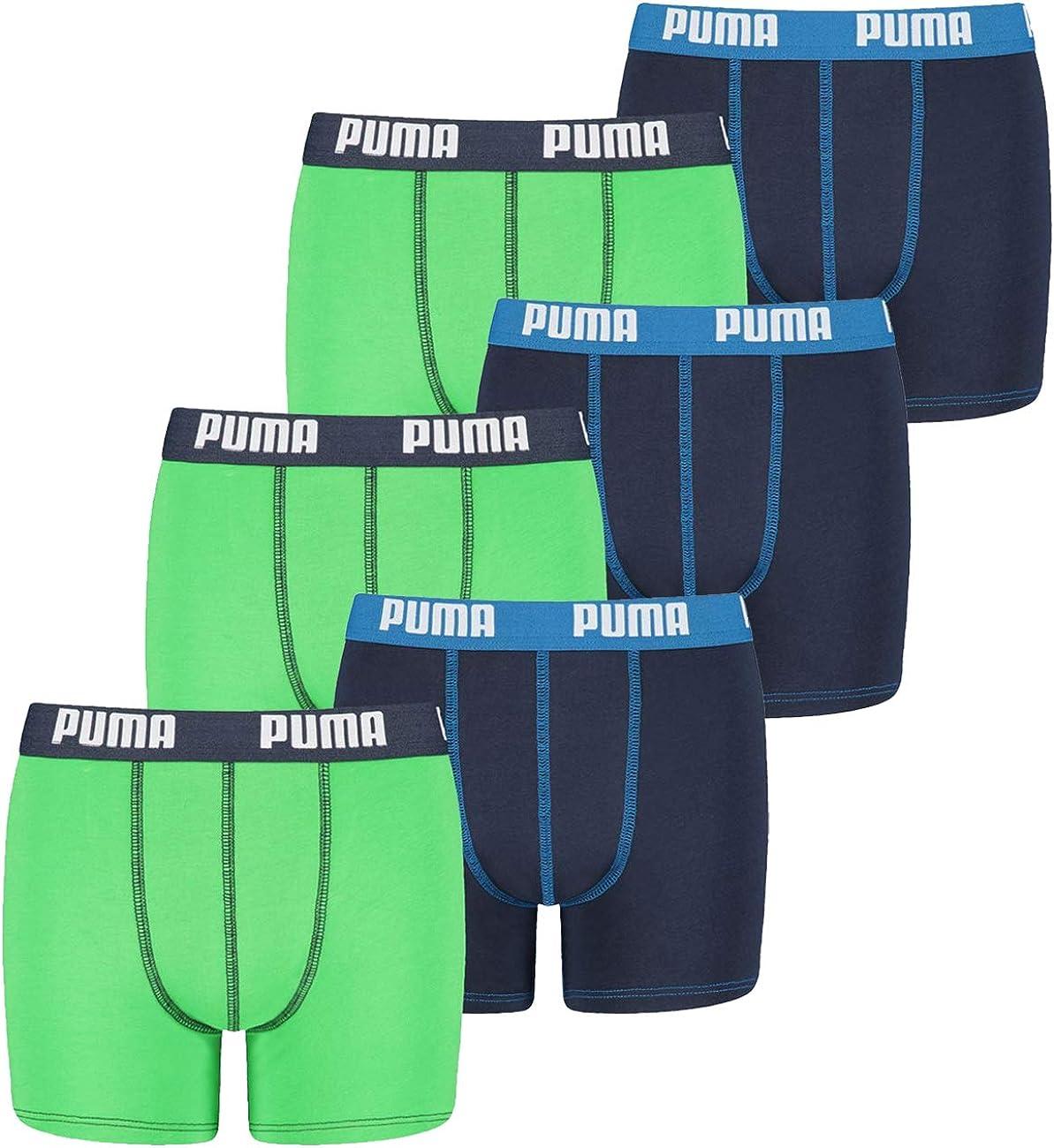Puma Basic - Caleçon - Uni - Lot de 2 - Garçon