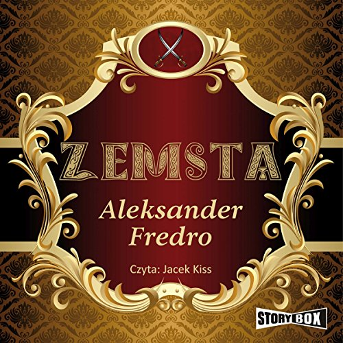 Zemsta audiobook cover art