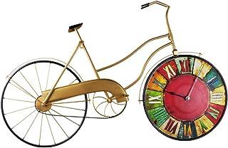 hsj WYQmm Pastorale Rétro Maison Horloge Horloge Murale Salon Salon Muet Créatrice De La Mode Personnalité Horloge À Quart...
