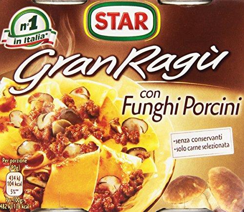 Star - Gran Ragú con Funghi Porcini von Star - 2 x 180g