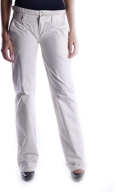 Aspesi Women's MCBI13858 Beige Cotton Pants