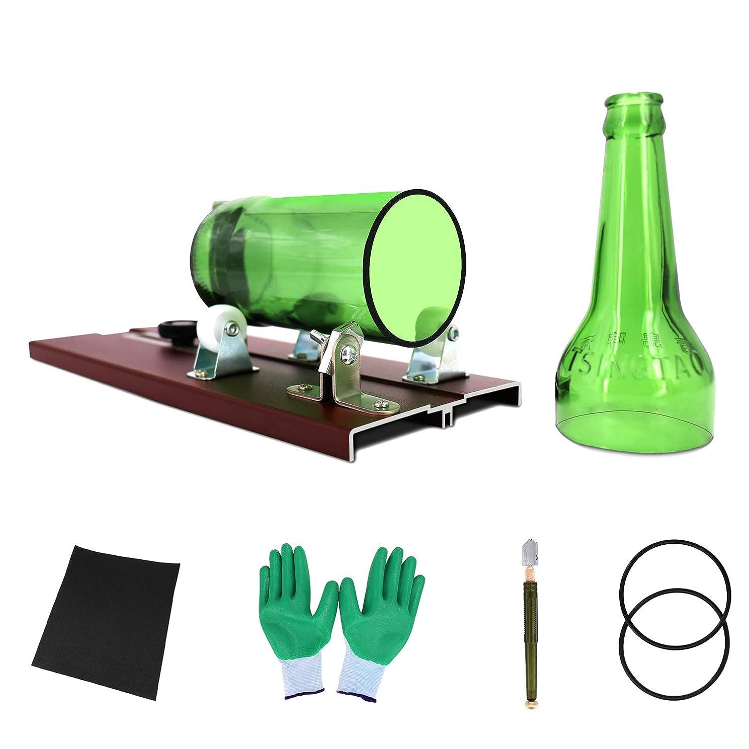 Upgrade Glass Bottle Cutter, Bottle Cutting Machine Tool Kit for Wine/Beer Bottles Cutter Crafting (Bottle)