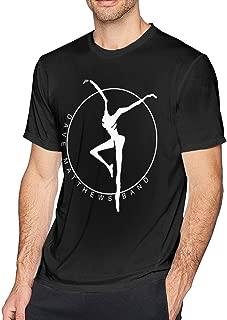 Dave Matthews Band Men's T Shirt Cool Short Sleeve Black