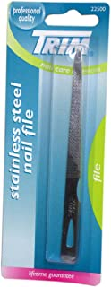 Trim Stainless Steel Nail File 1 ea