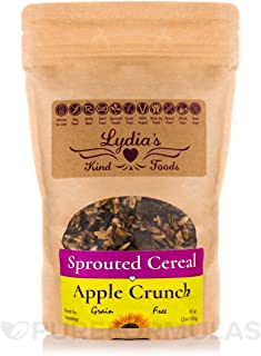 Lydia's Kind Foods Sprouted Apple Crunch Cereal, 12 oz