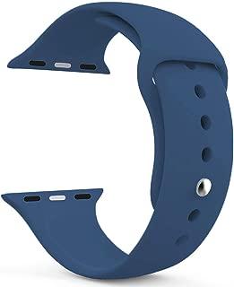 Microsonic 21261 Apple Watch Series 5 40mm Silikon Kordon Lacivert