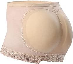 Everbellus Seamless Butt Lifter Shorts Padded Panties Enhancer Womens Underwear