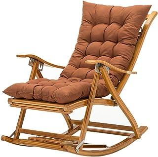 Silla de jardín reclinable Silla tumbona Relajante Almuerzo Descanso Sillas Plegable Resistente a la intemperie Silla ensa...