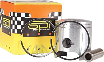 SPI Piston T-Moly Dbl Ring S-D Fits 2007 Ski Doo MX Z Blizzard 600 H.O. SDI Snowmobile - Manufacturer Part Number: SM-09144B