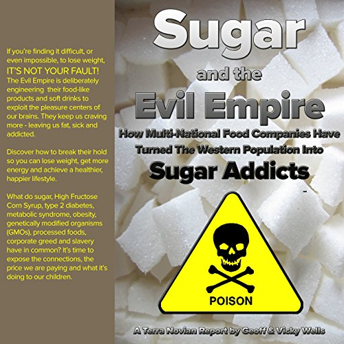 Sugar and the Evil Empire audiobook cover art