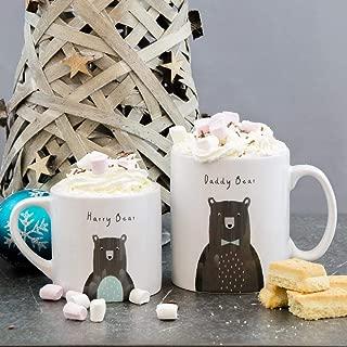 PERSONALISED Fun Bear Family Mug Set | Christmas Eve Mummy Baby Daddy Bear Gift