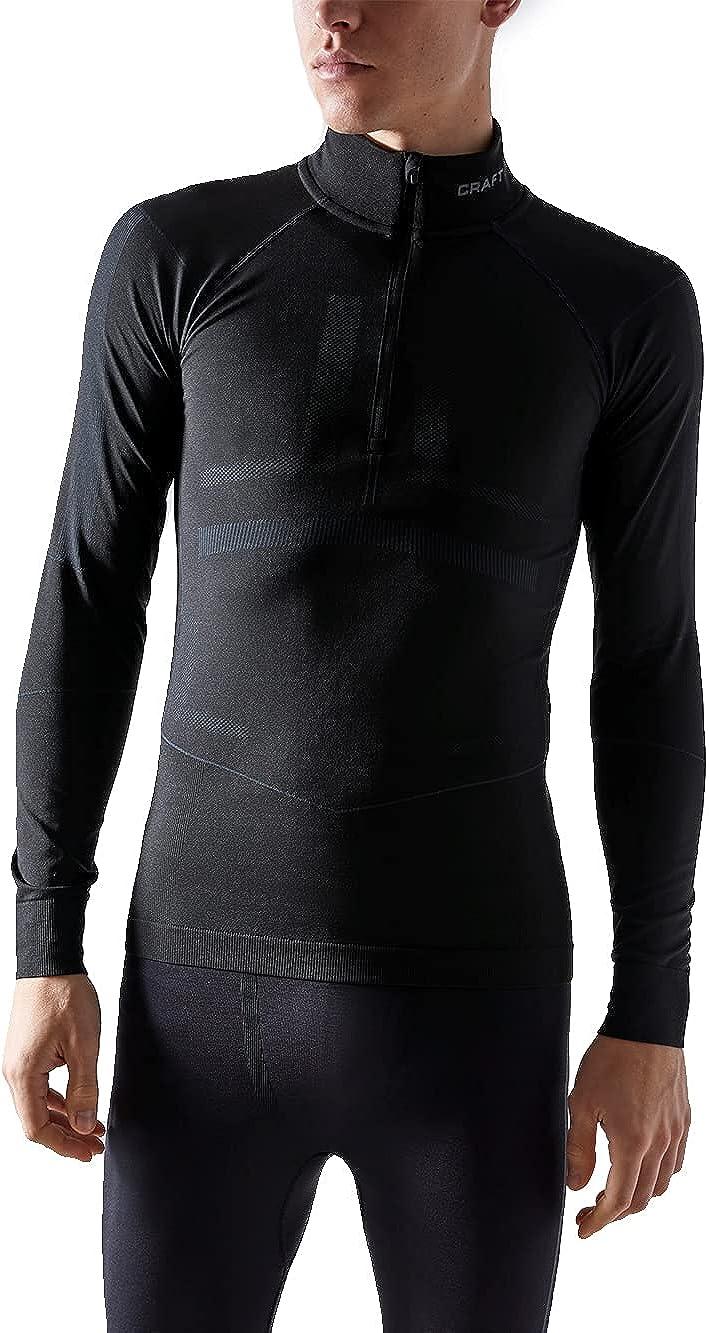 Craft Sportswear Men's Active safety 5 ☆ popular Asphalt Black Intensity Zip