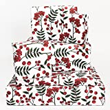 Central 23 - Christmas Wrapper Paper for Women - Winter Berries - Fruits - Green Red - Seasonal -...