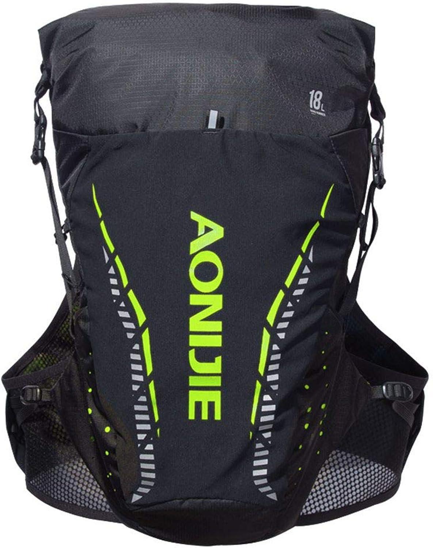 Mairuay Men Women 18L Outdoor Racing Marathon Jogging Backpacks Cycling Water Bag Climbing Hydration Sport Vest