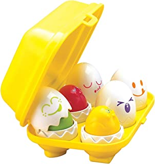 TOMY Toomies Hide & Squeak Eggs | Matching & Sorting Learning Toys | Kids Egg..
