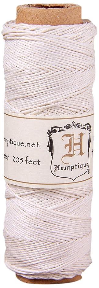 Hemp Cord Spool 10lb 205', White