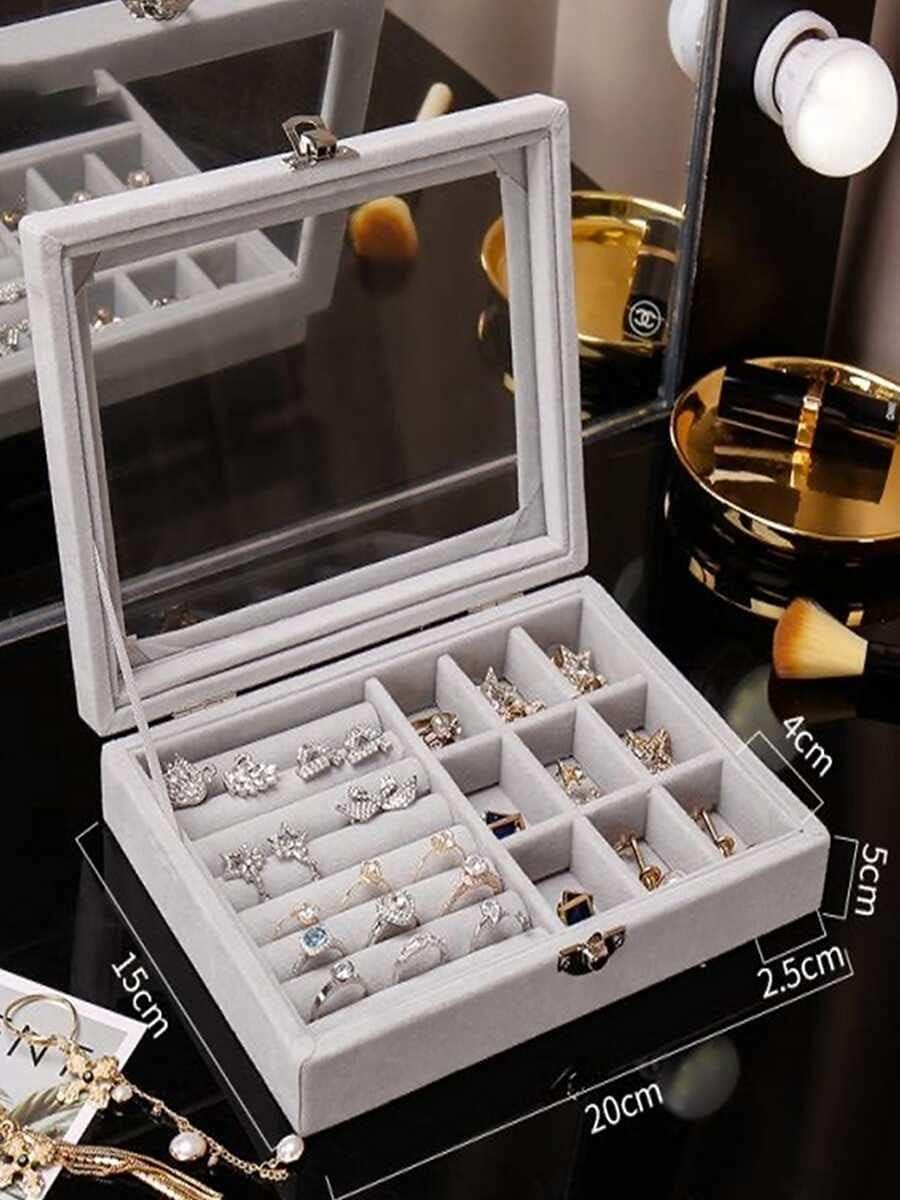 Jzhi Max 73% OFF Jewelry Box 1pc Ring : B New Shipping Free Size Storage
