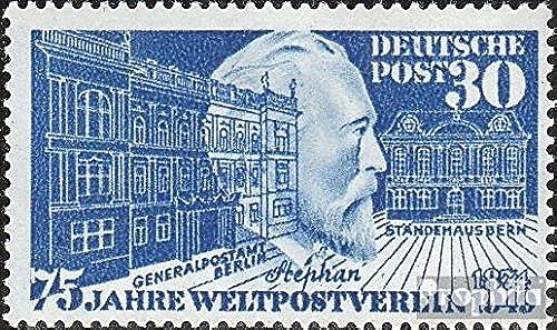 RFA (FR.Allemagne) 116II (complète.Edition.) cassé t dans Post (Champ 25) 1949 75 Années UPU (Timbres pour Les collectionneurs)