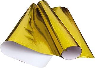 Papel Cartolina Laminado x 20 Unidades, V.M.P. 203.5.06, Amarelo, 48 x 60 cm