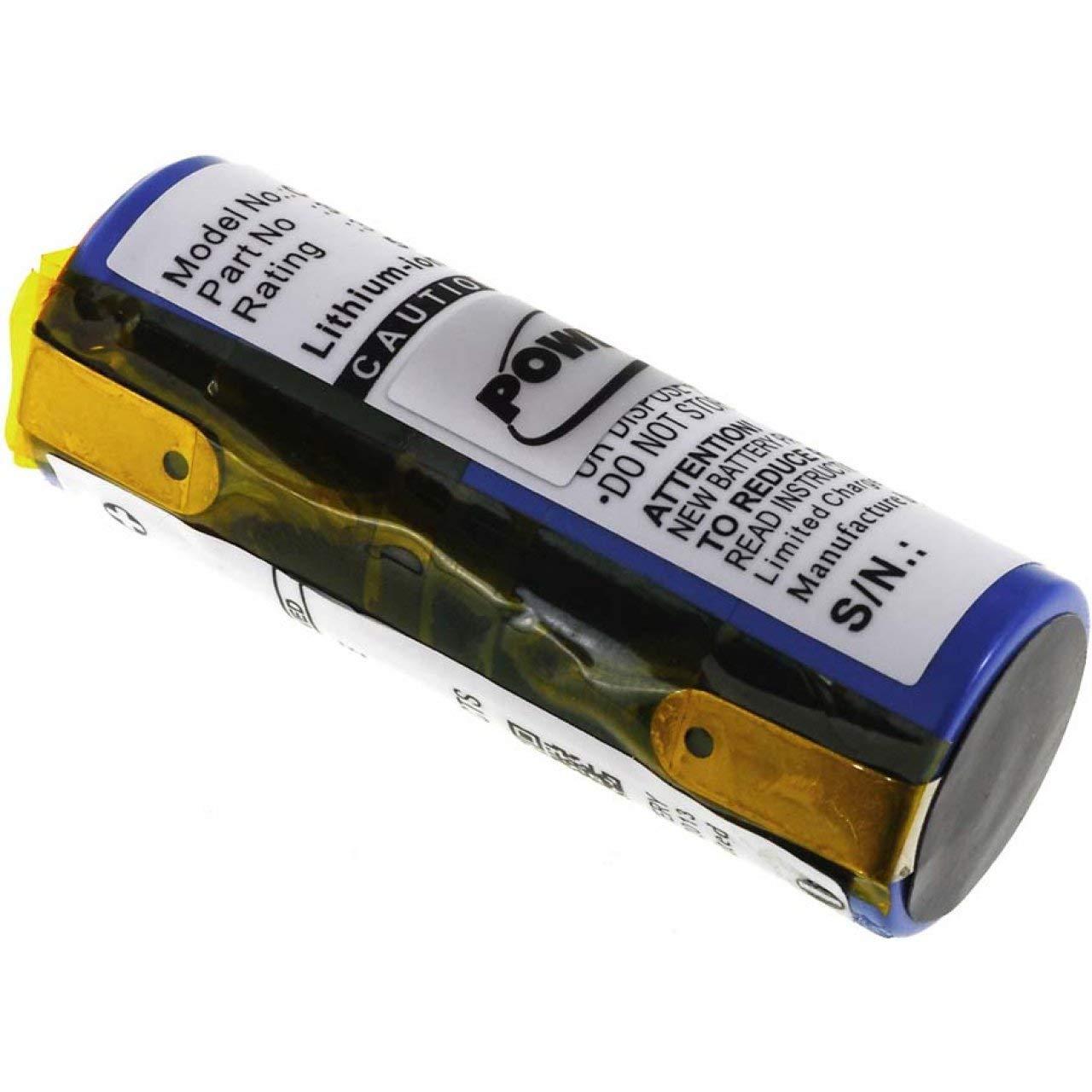 Batería para Afeitadora Philips Norelco HQ9100, 3,7 V, ion de ...