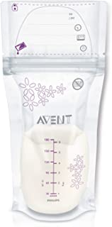 Philips Avent 25 Breast Milk Storage Bags, 180 ml