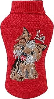 Haokaini Animal de Compagnie Chien Chat Pull en Tricot Manteau de Chiot Chaud Vêtements en Tricot Vêtements de Pull Chiot ...