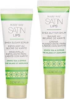 Mary Kay Satin Lips Set - Shea Sugar Scrub and Shea Butter Balm 3 oz. NET / 8 g