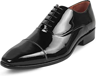 tresmode Men Evening Patent Oxfords