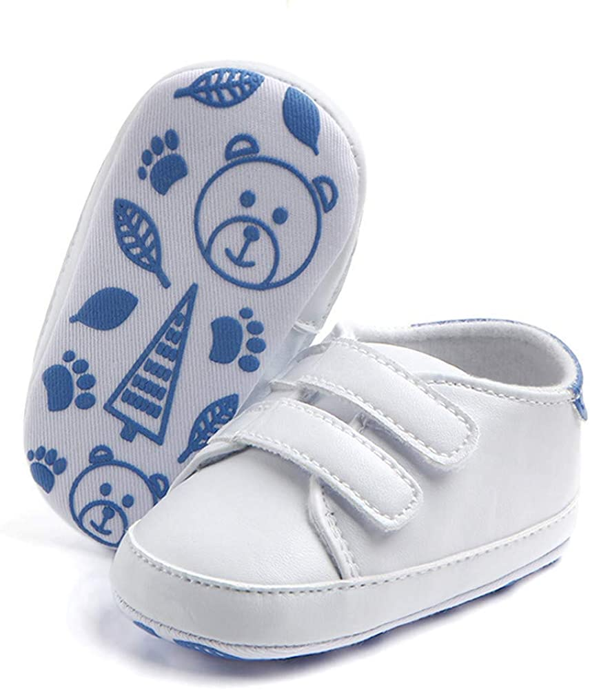 ManxiVoo Infant Toddler Baby Boy Girl Soft Sole Prewalker Sneaker Shoes for Newborn 3-12 Month Crib Shoes