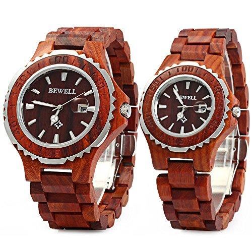 Couple's Wooden Watch Set