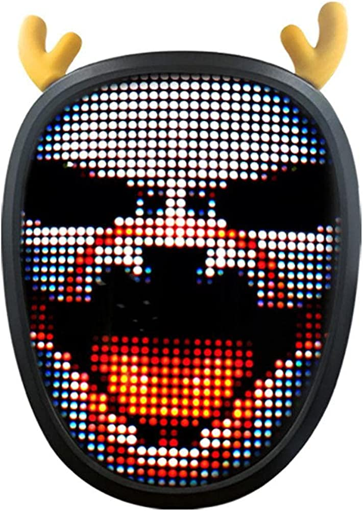 LED Ranking TOP16 Face Mask Light up Programmable Automa with SEAL limited product Bluetooth