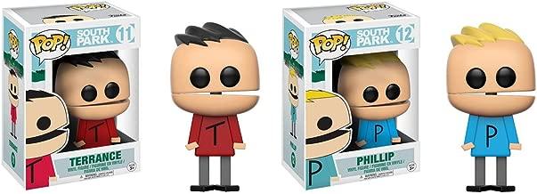 Funko POP! South Park: Terrance and Phillip Toy Action Figure - 2 POP BUNDLE