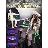 Lebensgroße Dummy Puppe mit Drahtgestell in Genick und Armen für posing ideal für Party...