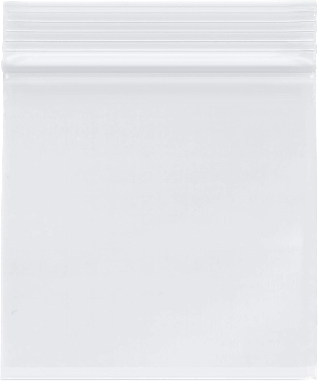 Plymor Heavy Duty Opening large release sale Plastic Reclosable Zipper Bags 4