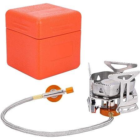 Estufa de Gas Camping Horno de Gasolina Senderismo para p/ícnic Gocher BRS BRS-8 Horno de Gas y Aceite port/átil para Exteriores