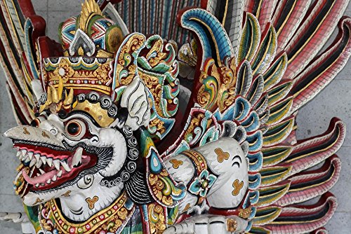 Home Comforts LAMINATED POSTER Bali Cultuur Barong Religie Hindoes Masker Poster Print 61 x 91.5