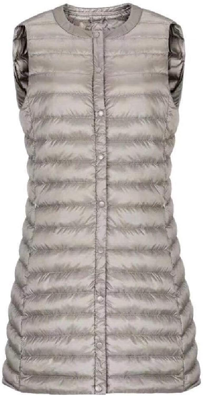 TaoNice Womens Light Weight Waistcoat Packable Puffer Fashion Down Vest