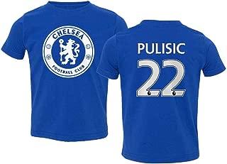 TURXIN New Chelsea Soccer Shirt Christian PULISIC #22 Toddler T-Shirt