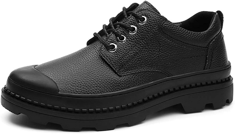Bottes de pluie Bottes de pluie noires pour hommes, chaussures de sport pour hommes, chaussures de sport respirantes sauvages, chaussures d'extérieur en caoutchouc + daim (38-46 verges en option) bott