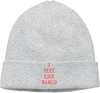 add803cb8970d ITIUIOO Unisex Adults I Feel Like Pablo Kanye West Cool Winter Crochet  Beanie