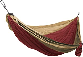 Grand Trunk Hammock - Camping Double, Tree Hanging Kit Included, Nylon, Portable, Indoor Outdoor, Travel, Backpacking, Survival