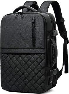 PANFU-AU Water Resistant School Rucksack for Women Men Fits 15 Inch Laptop Men's Backpack Travel Laptop Backpack Professional Business Backpack Bag with USB Charging Port