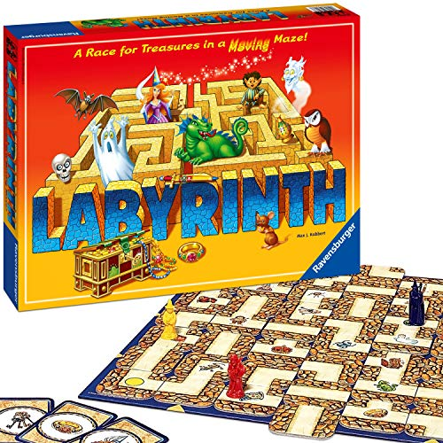 Image of Ravensburger Labyrinth Family Board Game for Kids and Adults Age 7 and Up - Millions Sold, Easy to Learn and Play with Great Replay Value (26448)